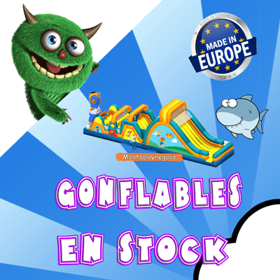 Structures Gonflables Stock