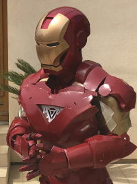 cosplay iron man  OCCASION